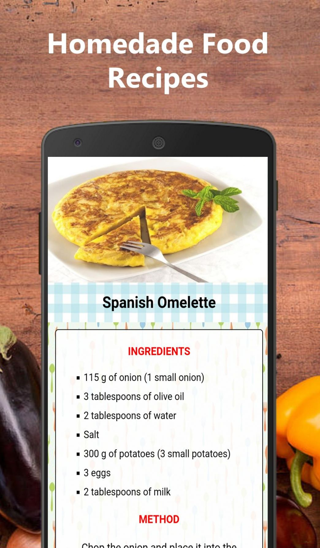 Homemade food recipes for Android - APK Download - Food Recipes Download