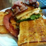 Homemade] Hangover Breakfast Sandwich : Food – Breakfast Recipes Reddit