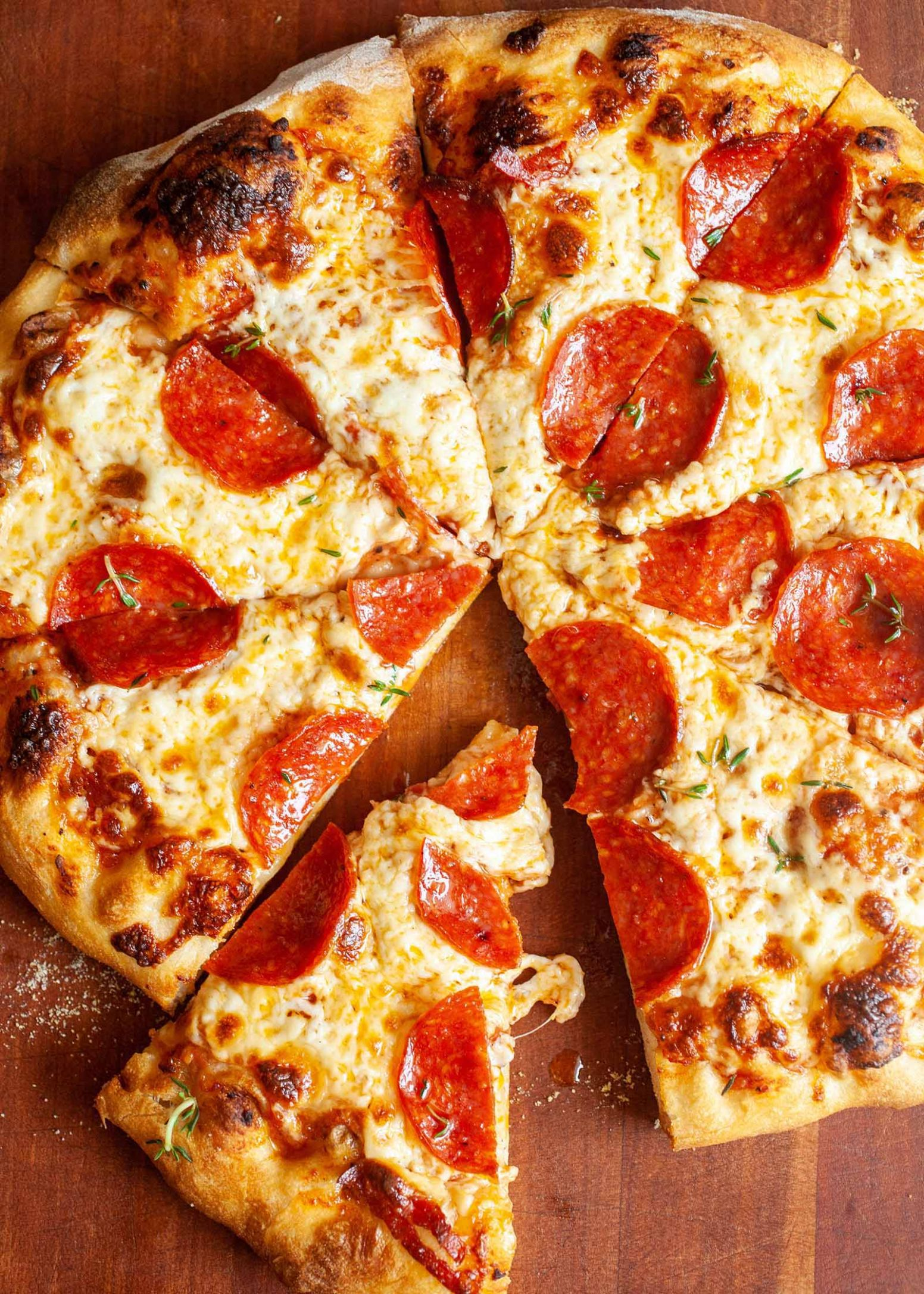 Homemade Pepperoni Pizza - Recipes Pizza Fillings
