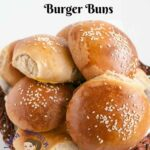 Homemade Soft Whole Wheat Burger Buns Recipe – Hamburger Buns – Recipes Sandwich Buns