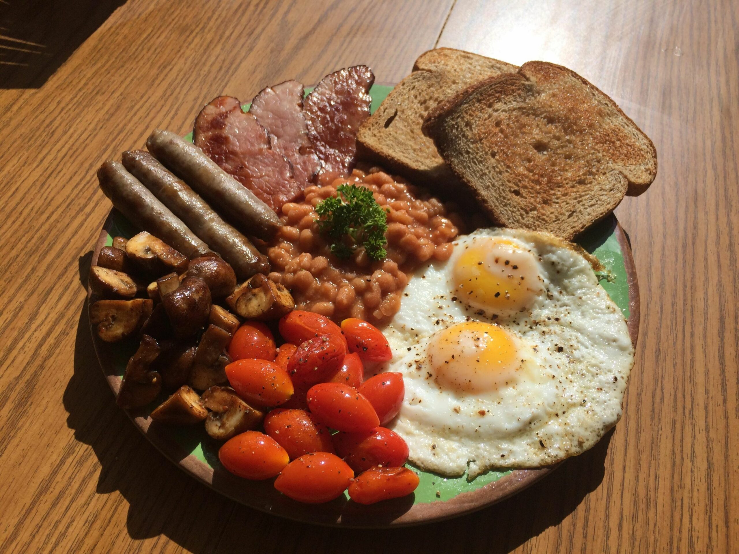 Homemade] The full English breakfast : food - Breakfast Recipes Reddit