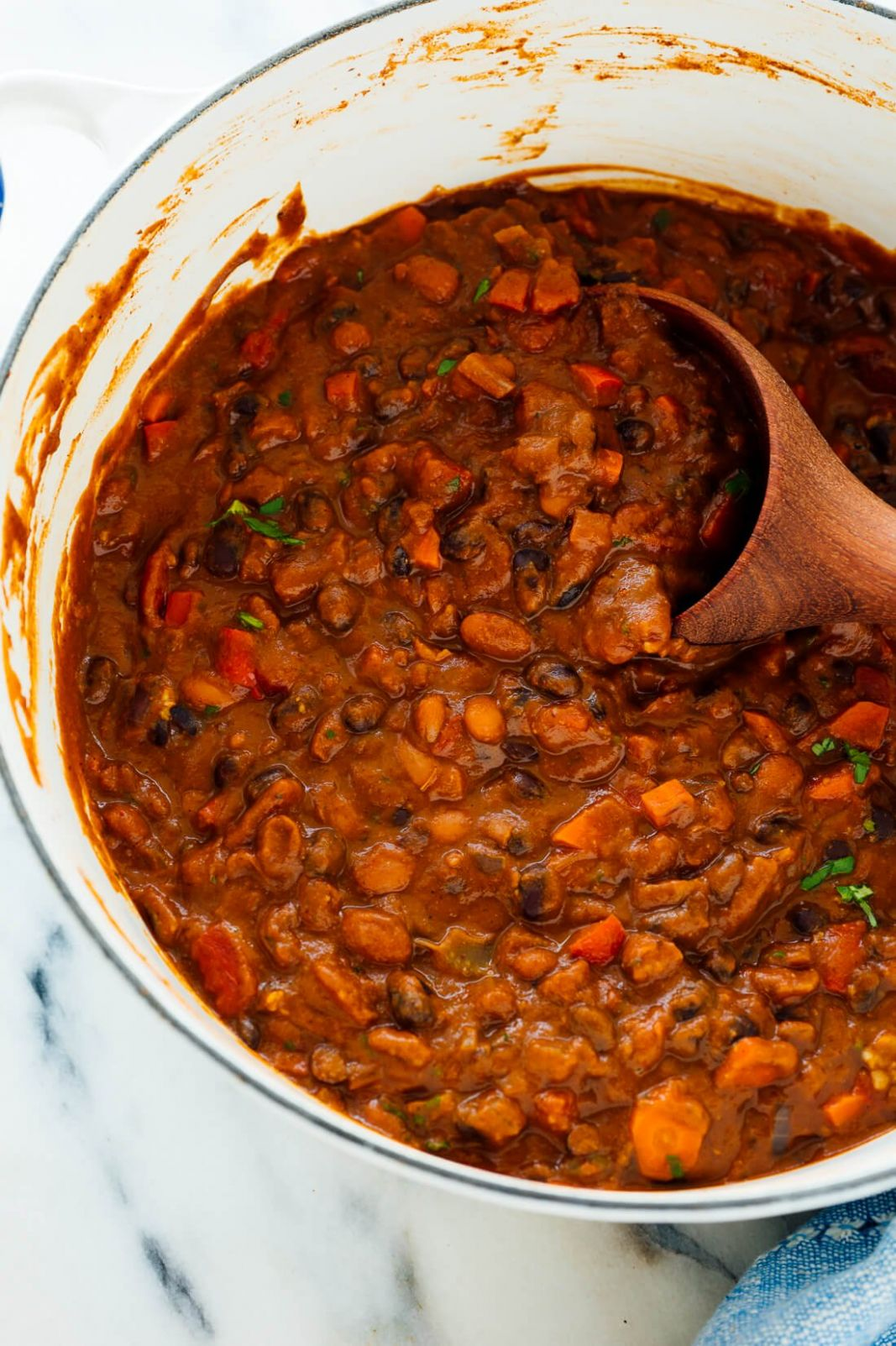 Homemade Vegetarian Chili - Cookie and Kate - Recipes Vegetable Chilli