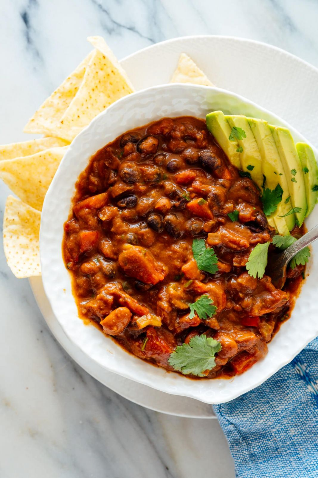 Homemade Vegetarian Chili - Recipes Vegetable Chilli