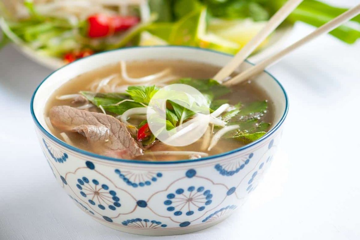 Homemade Vietnamese Pho with Video - Recipes Beef Pho