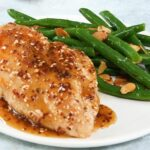Honey And Sesame Glazed Chicken Breasts With Green Beans – Recipe Chicken Breast Green Beans