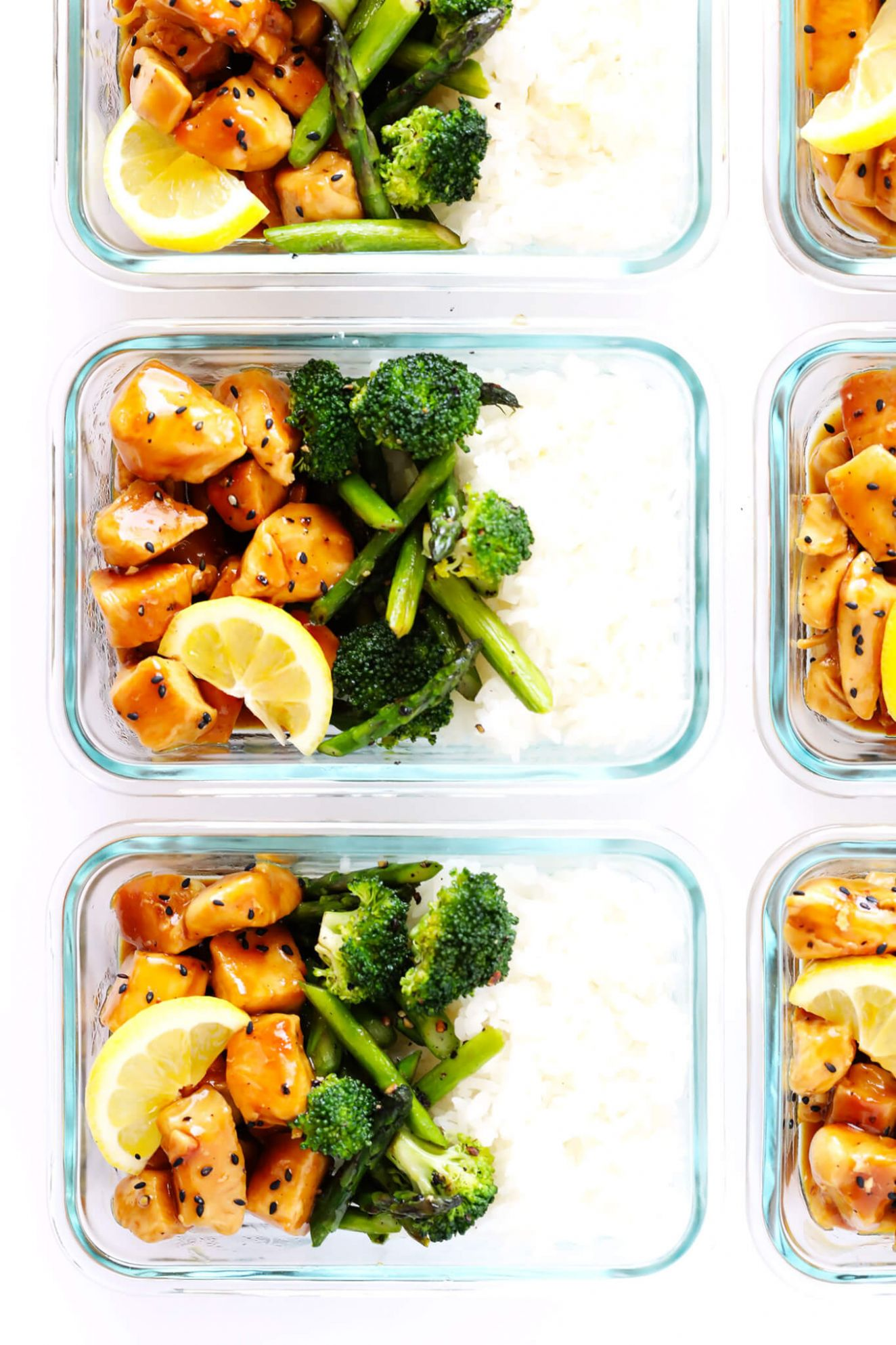 Honey Lemon Chicken Bowls (Meal Prep) - Dinner Recipes Meal Prep