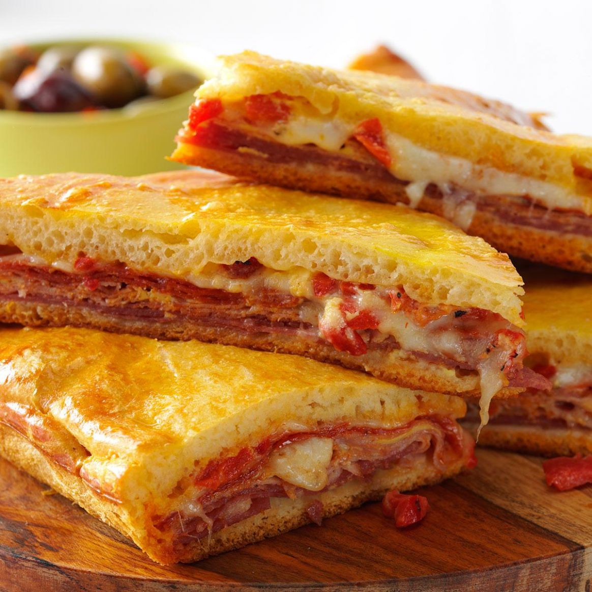 Hot Antipasto Sandwiches - Sandwich Recipes And Procedures