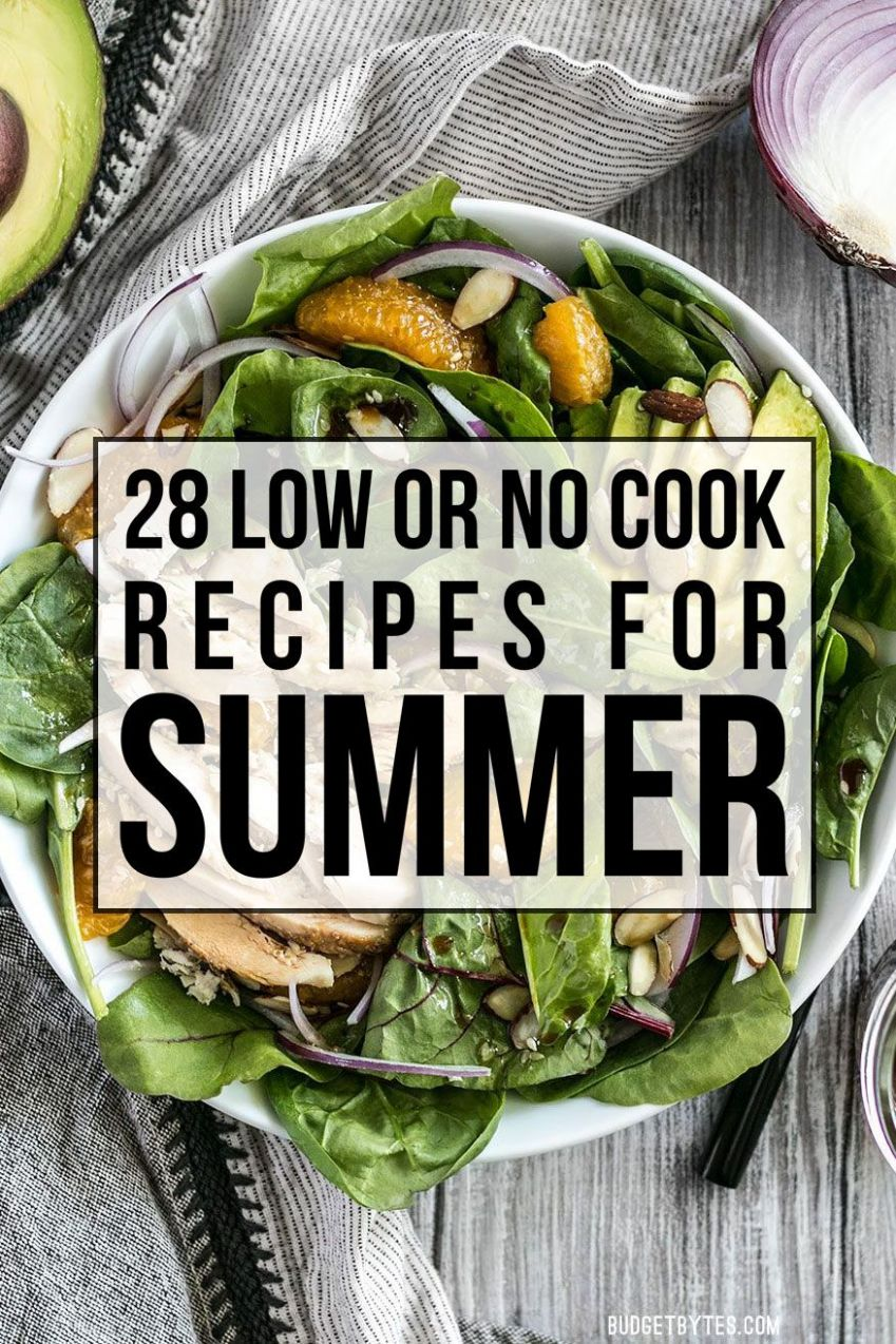 Hot Weather Recipe Round Up: 11 Low or No Cook Recipes | Hot ..