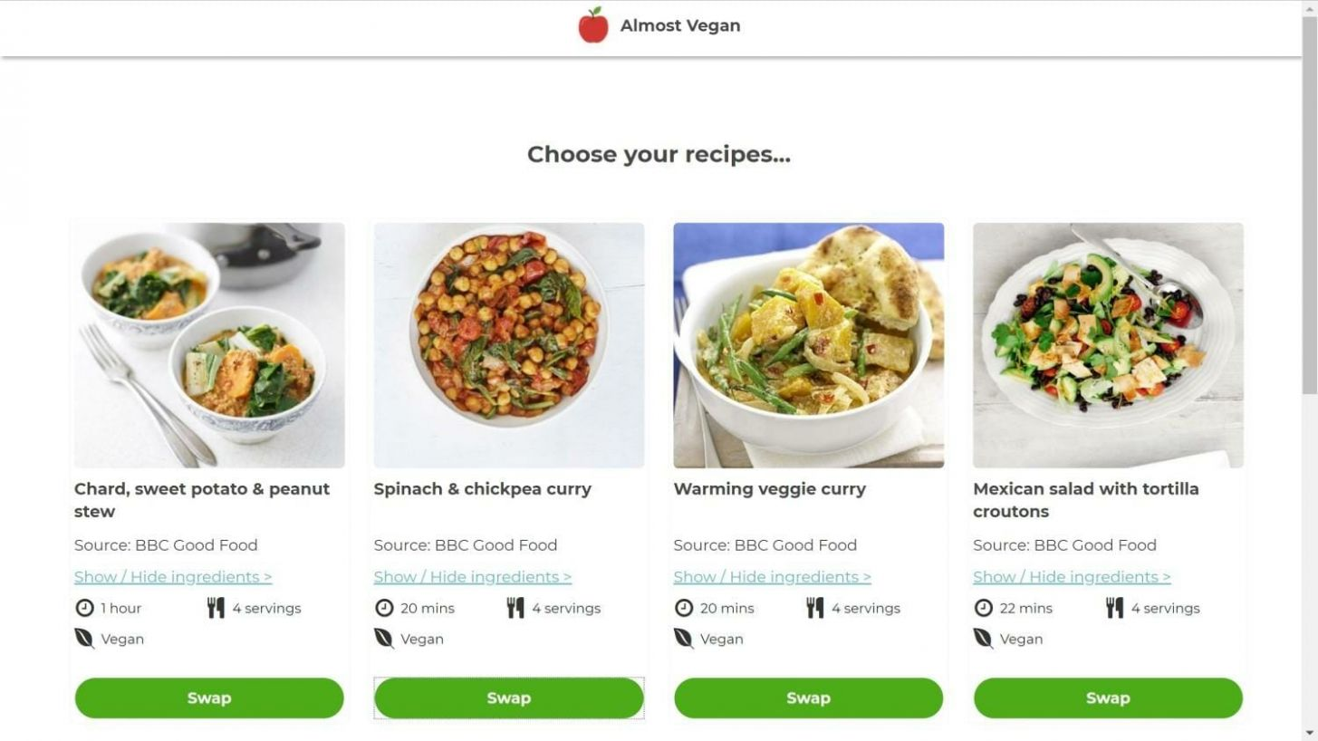 How I Built an app Without Writing a Line of Code - Mind the Product - Food Recipes Api Free