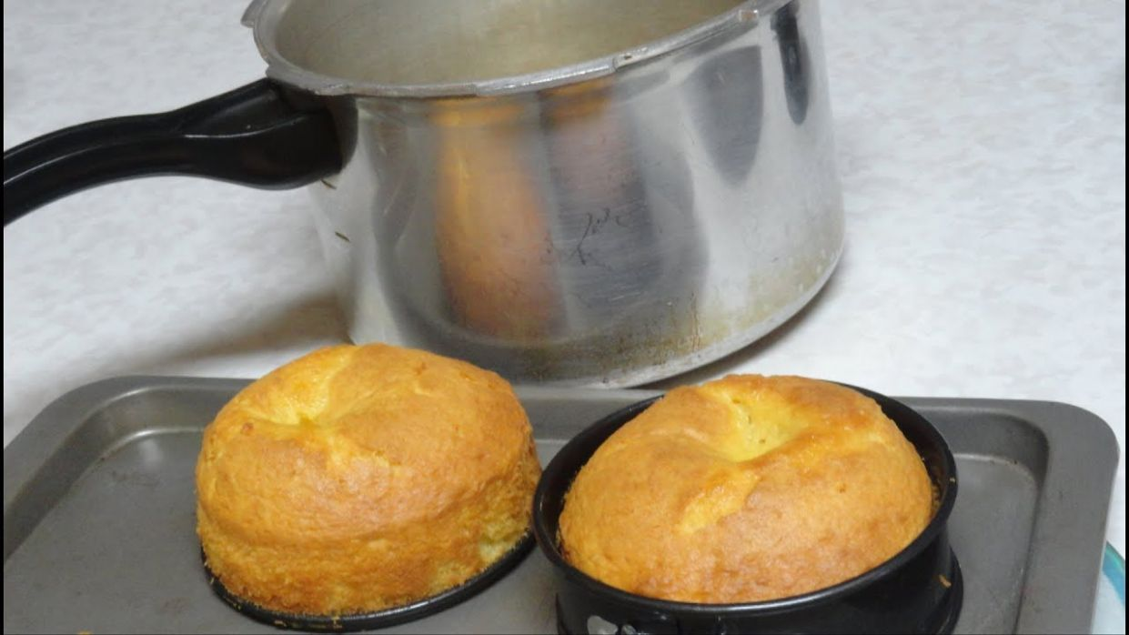 How to bake Cake in Pressure Cooker Video Recipe by Bhavna - Cake Recipes Cooker