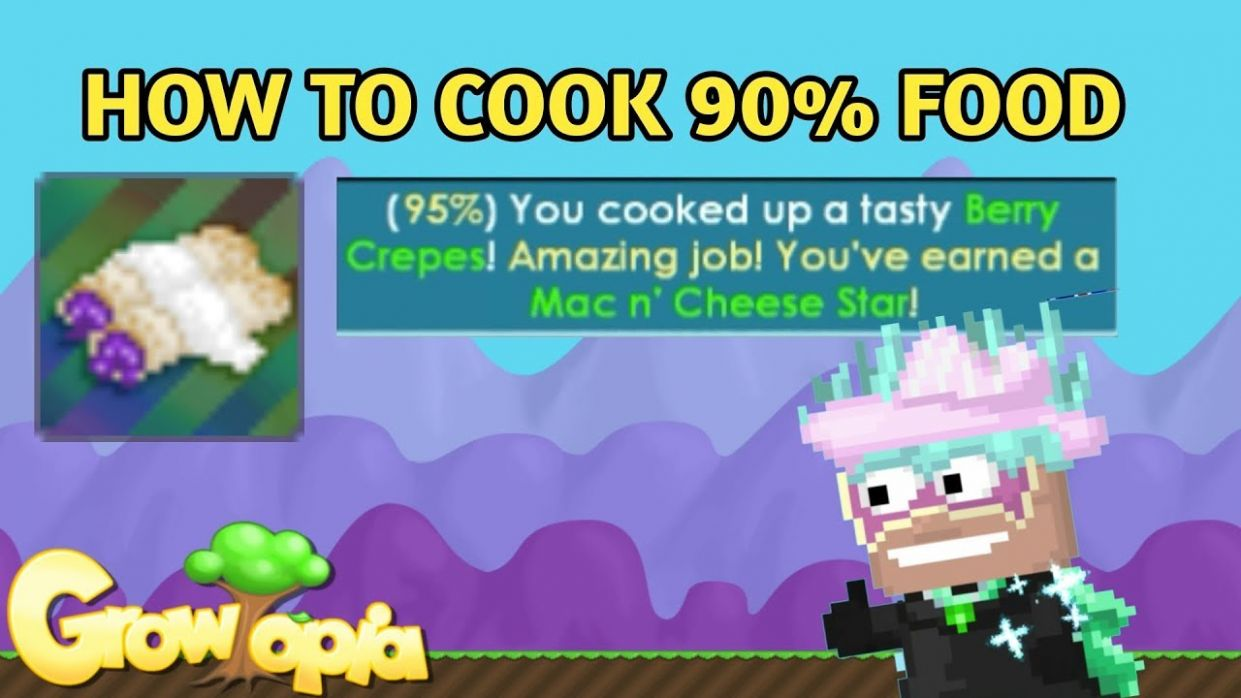 How to Cook 12% Food Growtopia - YouTube - Food Recipes Growtopia