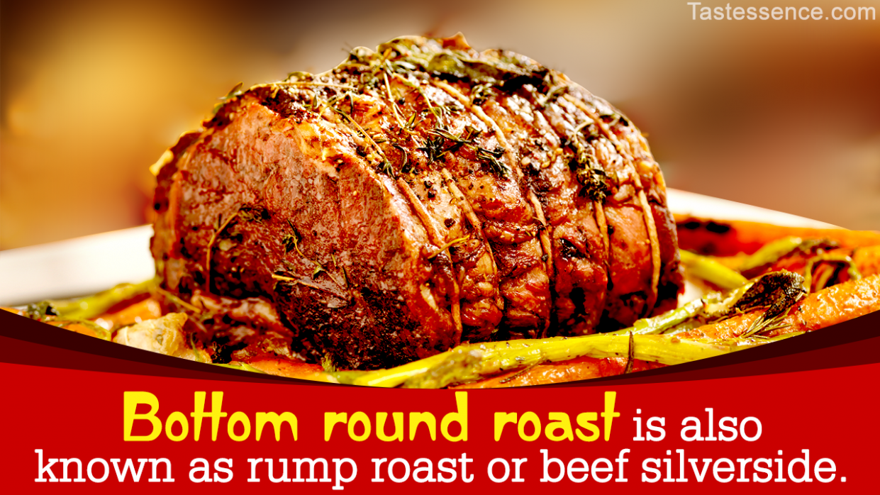 How to Cook a Melt-in-the-mouth Bottom Round Roast - Tastessence - Recipes Beef Rump Roast
