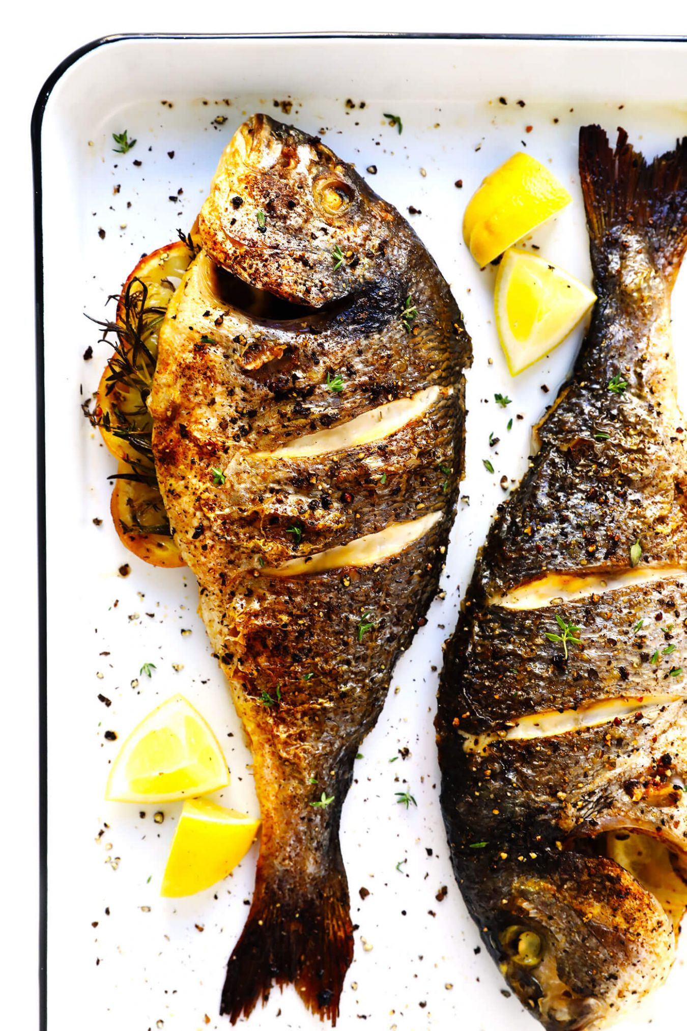 How To Cook A Whole Fish - Recipes Fish Baked