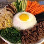 How To Cook Bibimbap-Rice Vegetables-Korean Food Recipes