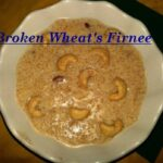 How To Cook Broken Wheat's Firnee – Urdu Recipe..