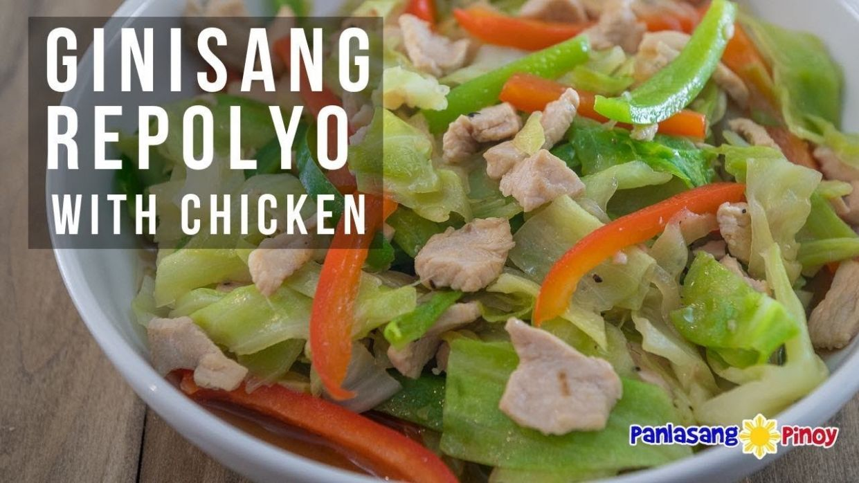 How to Cook Ginisang Repolyo with Chicken - Vegetable Recipes Lutong Bahay