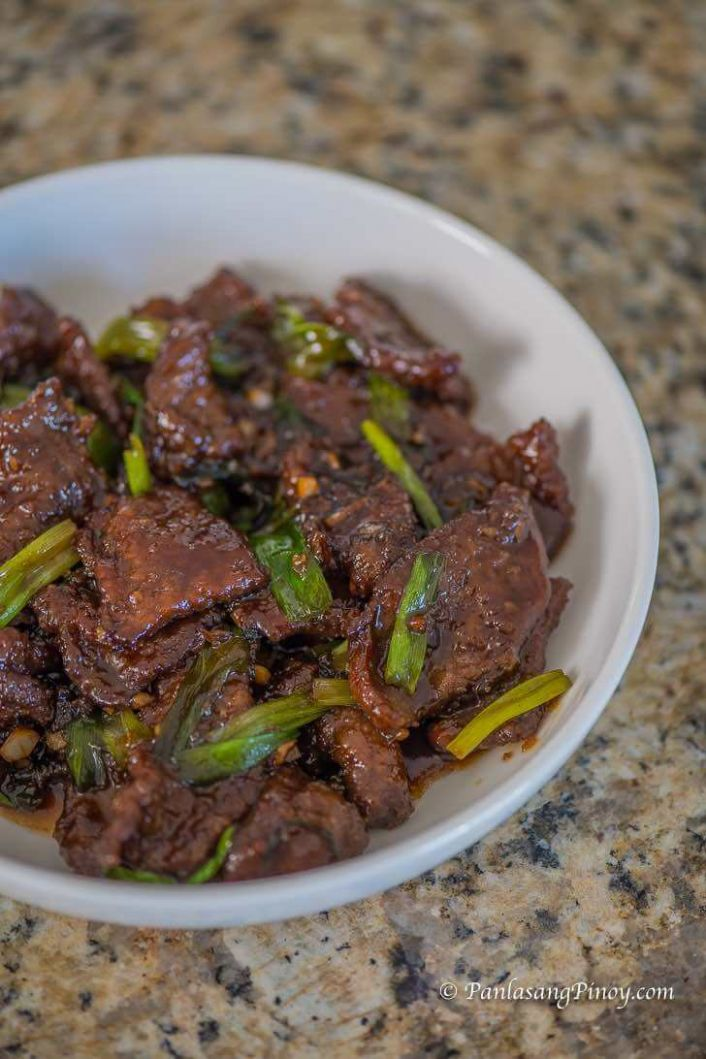 How to Cook Mongolian Beef - Panlasang Pinoy - Beef Recipes Pinoy
