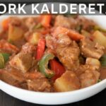 How To Cook Pork Kaldereta – Recipe Pork Kaldereta