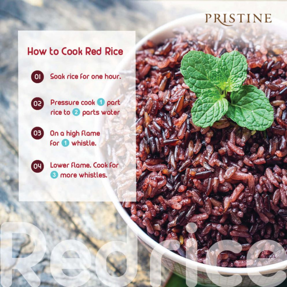 How to Cook Red Rice | Red Rice Benefits | Red Rice Recipes - Pristine - Recipes Using Red Rice