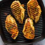 How To Grill Chicken On Stove Top (Easy Grill Pan Method) | Gimme ..