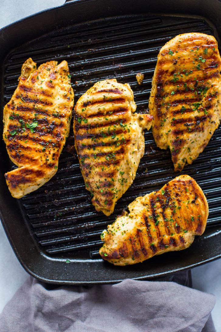 How to Grill Chicken on Stove-Top (Easy Grill Pan Method) | Gimme ..