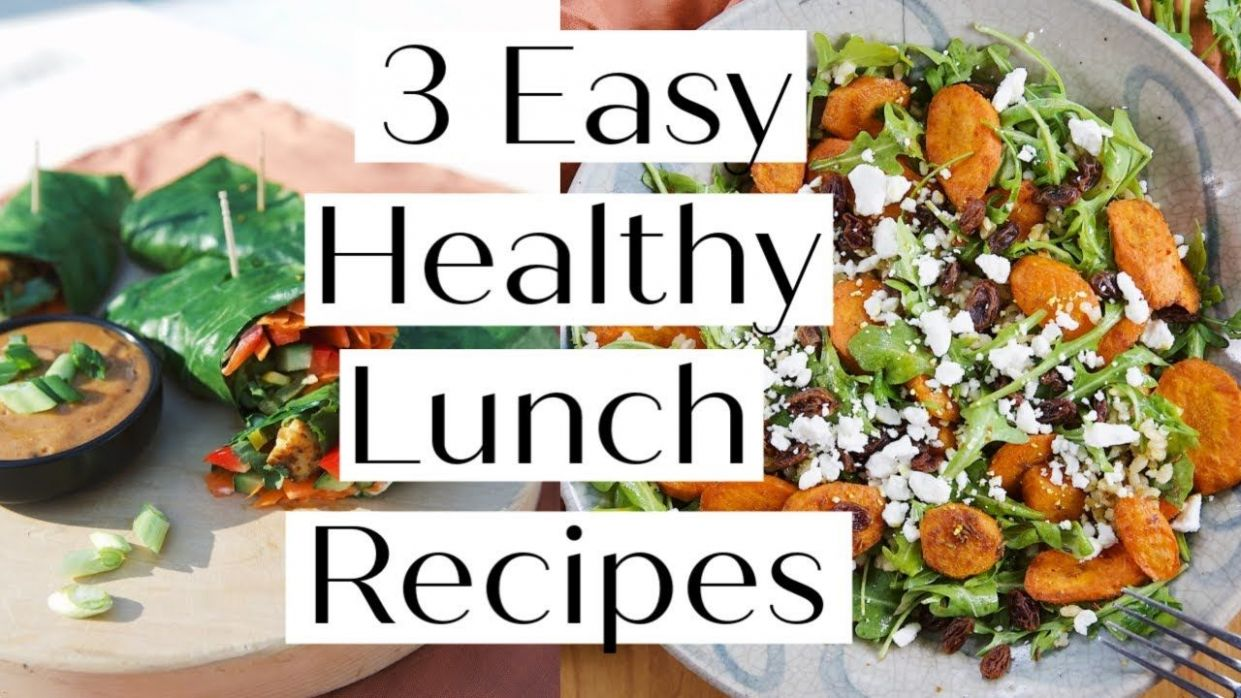 HOW TO MAKE 11 HEALTHY LUNCH RECIPES // VEGAN & PALEO Options ..