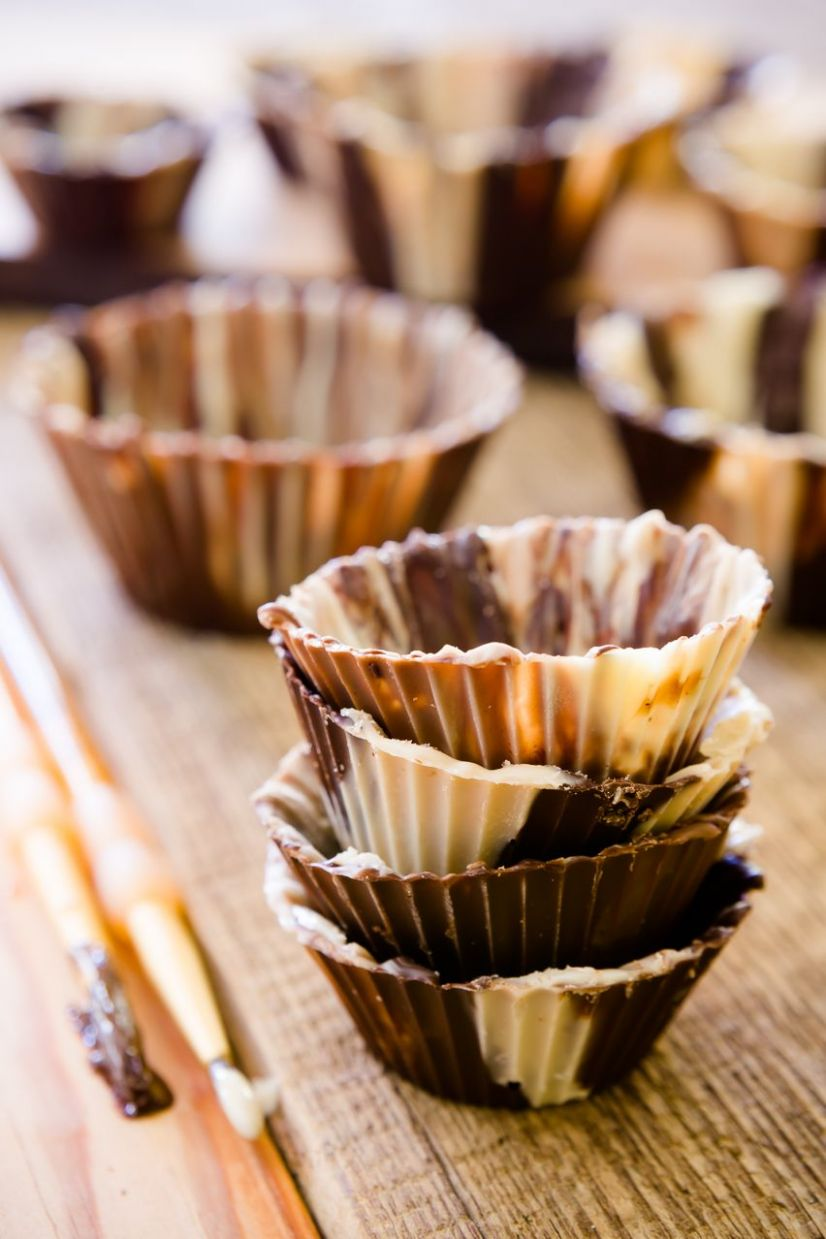 How to Make a Chocolate Cup - Dessert Recipes In A Cup