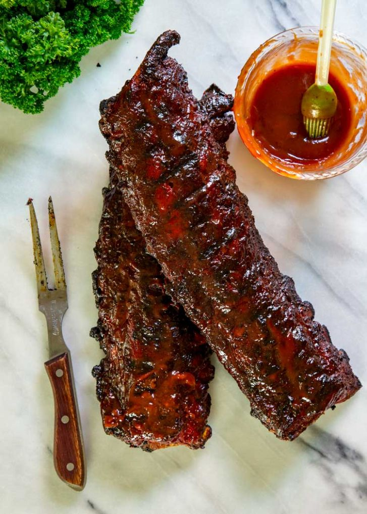 How to Make Baby Back Ribs - Best Grilled BBQ Ribs Recipe - Kevin ..
