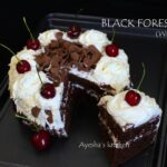 How To Make Black Forest Cake | Black Forest Cake Recipe Without Oven – Cake Recipes Malayalam