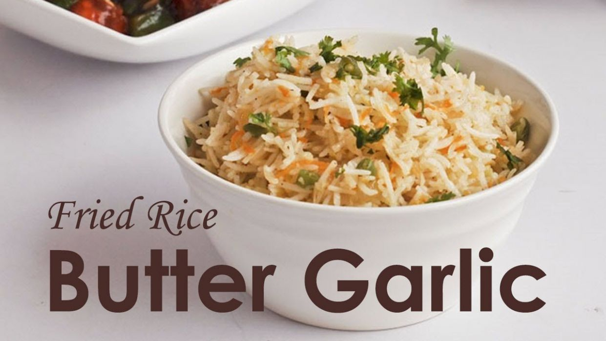 How to Make Butter Garlic Fried Rice - Rice Recipes Garlic Butter