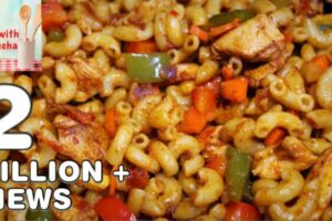 How To Make Chicken Macaroni -Quick and Delicious Macaroni Recipe By Cook  With Madeeha