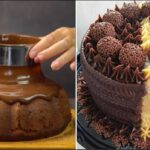 How To Make Chocolate Cake Decorating Ideas | Simple Chocolate Cake Recipes  to Impress Your Family