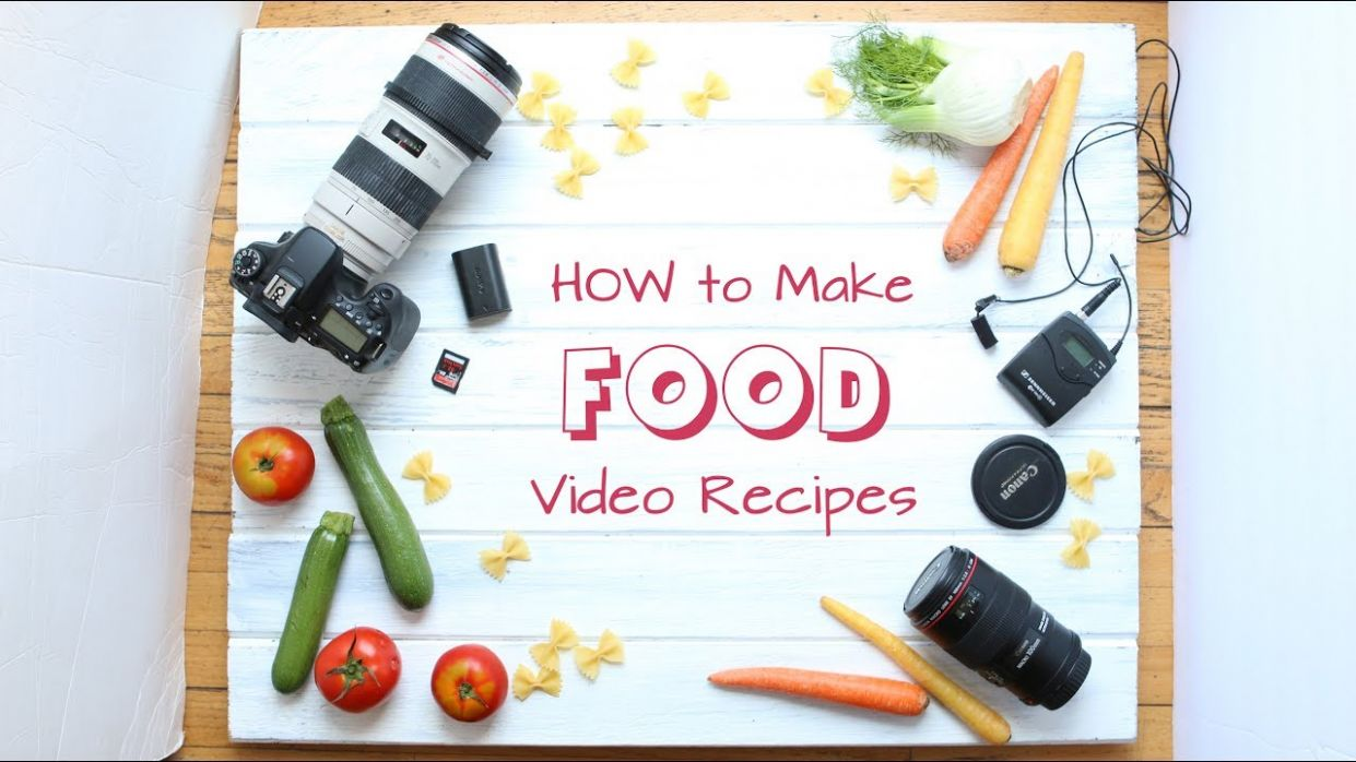 How to make cooking videos - tutorial - Cooking Recipes And Videos