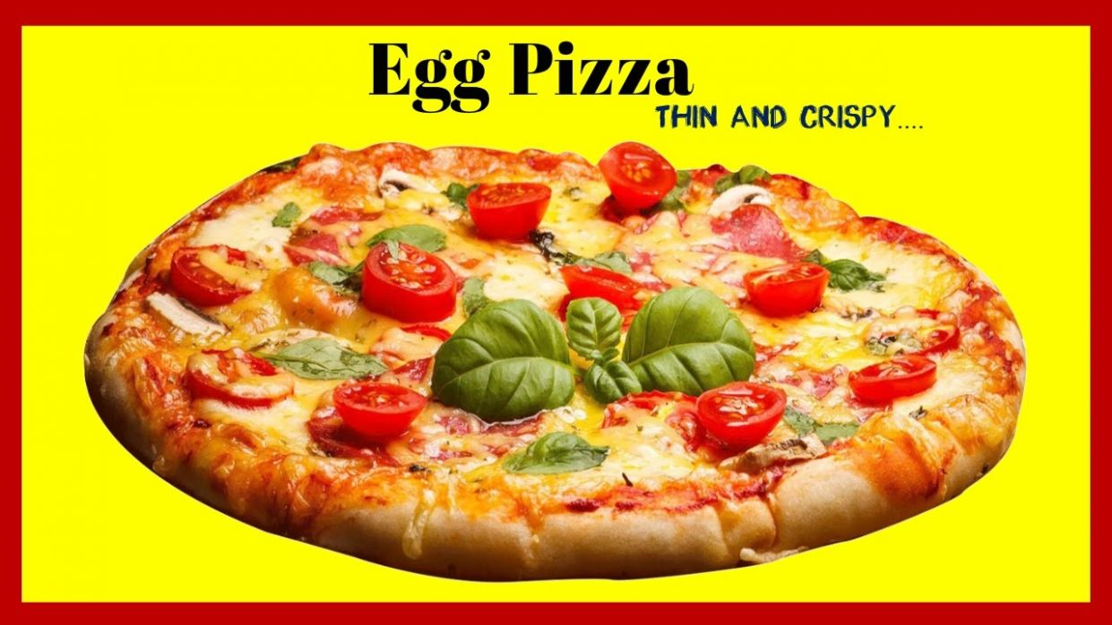 How To make Egg Pizza - One Mintue video - Pizza Recipes In Sinhala Language
