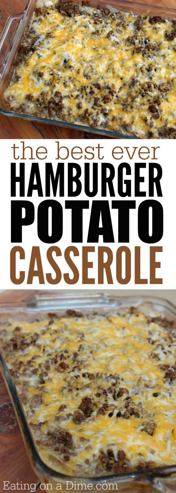 How to make Hamburger Casserole - Easy Recipes Made With Hamburger