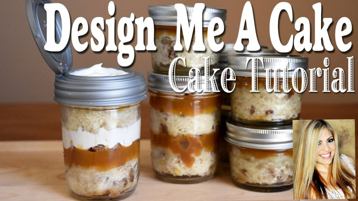 How to make Mason Jar Cakes to go!!! - Recipes For Cake Jars