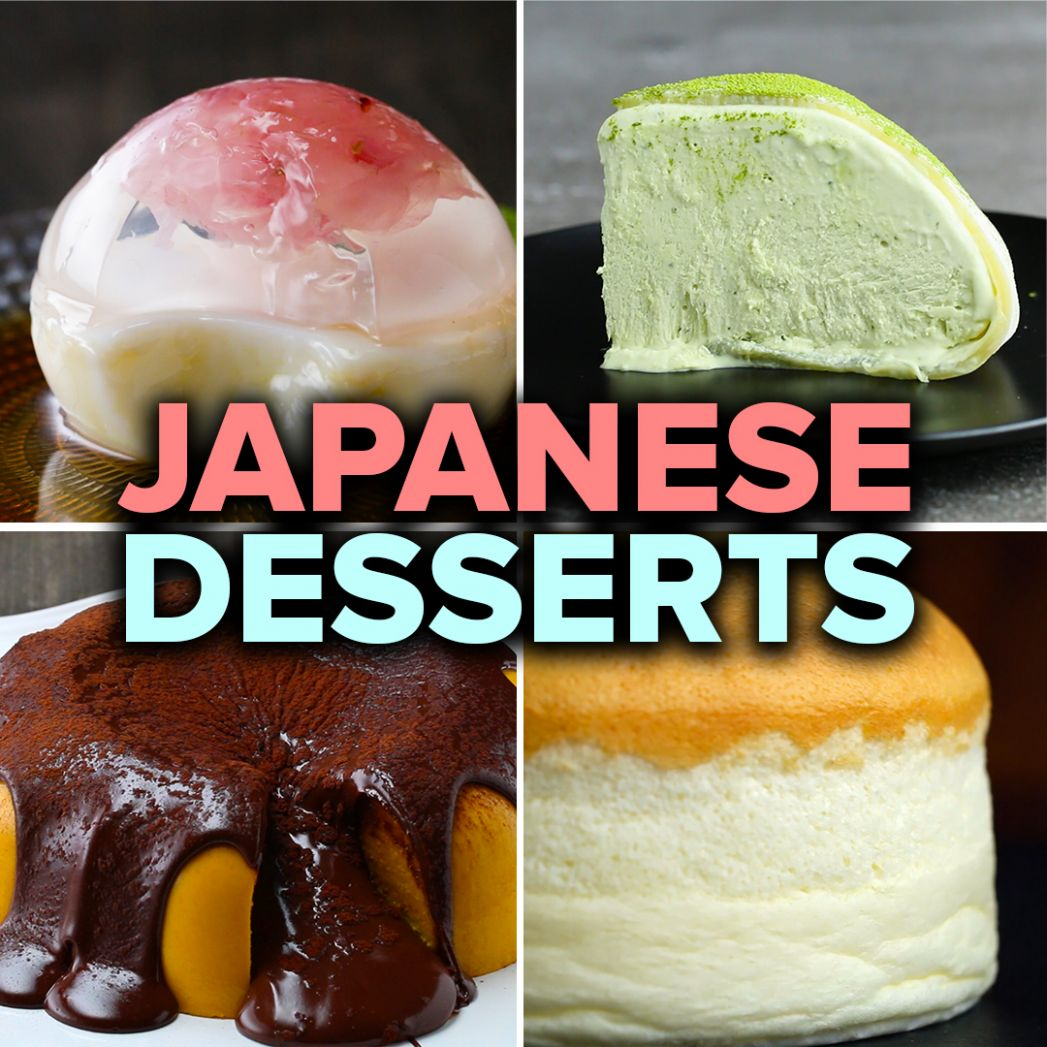 How To Make Mesmerizing Japanese Desserts | Recipes - Dessert Recipes Japanese