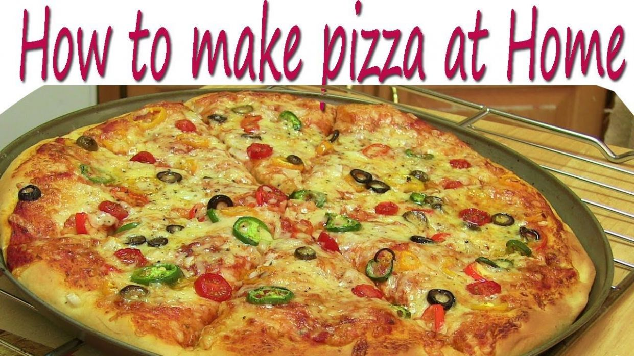 How to Make Pizza at Home Pizza Recipe without Oven in Hindi | How ..