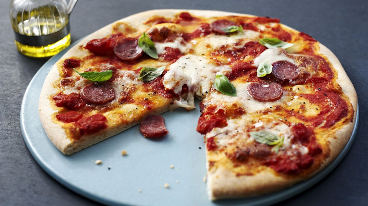 How to make pizza dough - Pizza Recipes Bbc Good Food