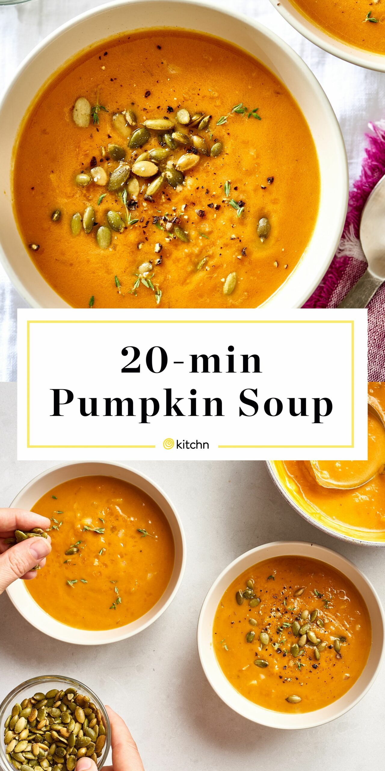 How To Make Pumpkin Soup in 11 Minutes - Recipes Pumpkin Soup