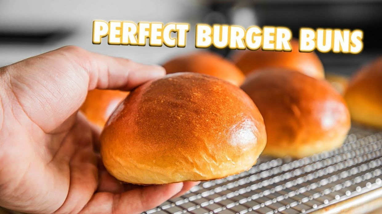 How To Make The Best Burger Buns Of All Time - Recipes Sandwich Buns
