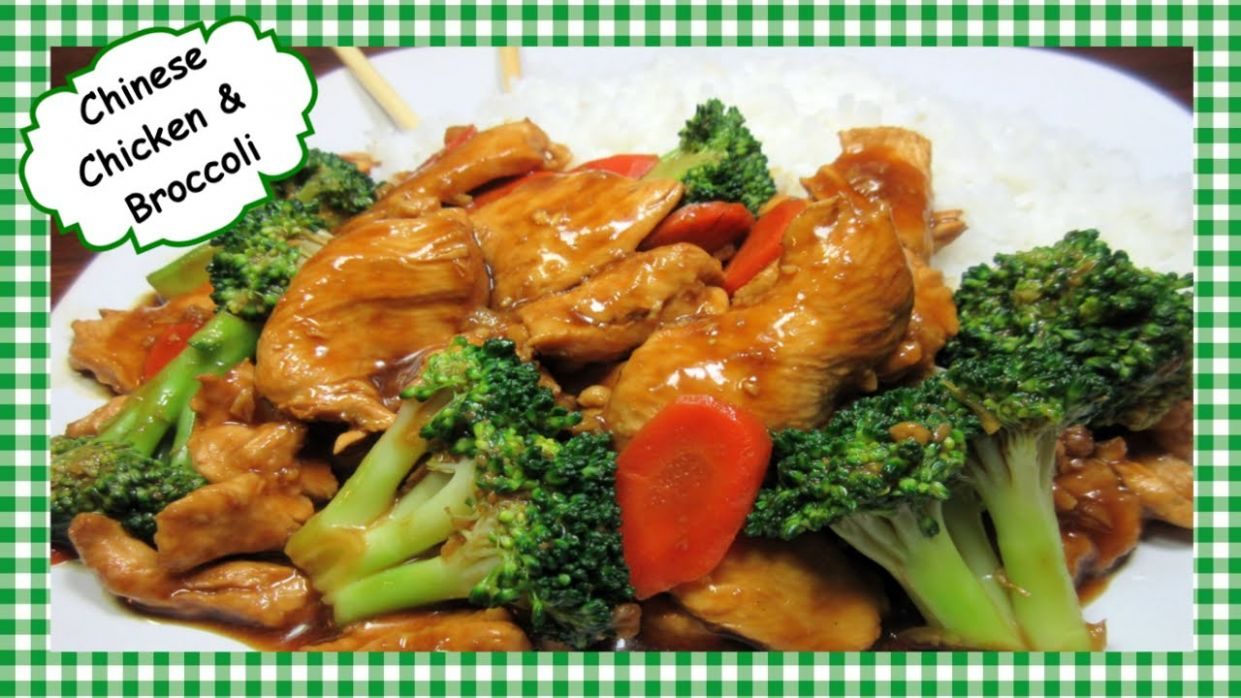 How to Make the Best Chicken and Broccoli Chinese Stir Fry Recipe ~ Healthy  Chinese Cooking - Recipe Chicken Youtube