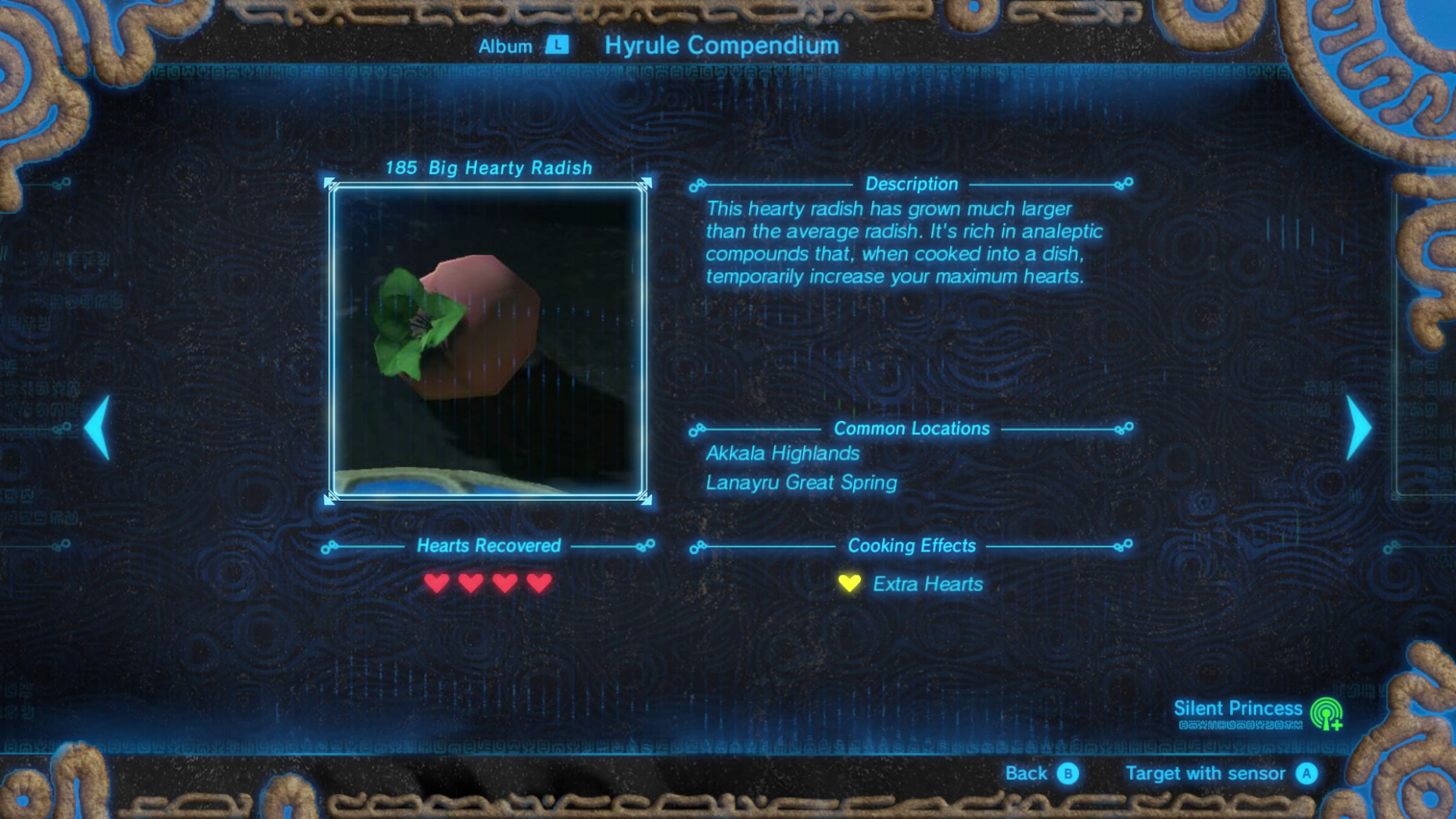 How to Make the Best Recipes - The Legend of Zelda: Breath of the ...