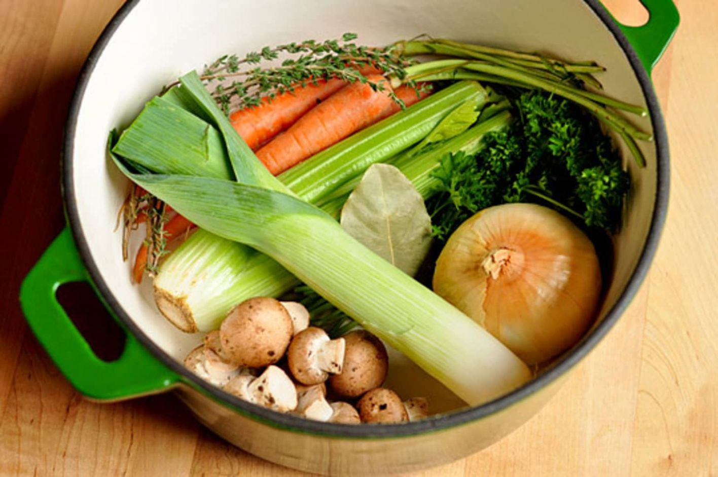 How To Make Vegetable Stock - Recipes With Vegetable Stock