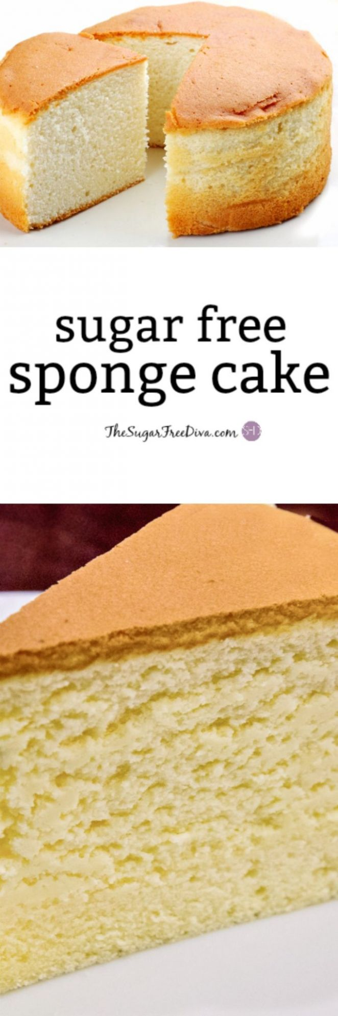 How to make YUMMY and Easy Sugar Free Sponge Cake - Recipes Cake For Diabetics