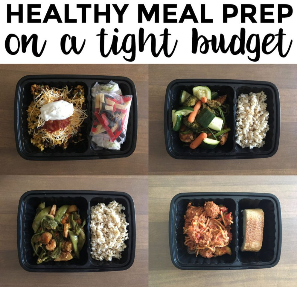 How to Meal Prep on a Really Tight Budget | Skye McLain - Healthy Recipes On A Tight Budget