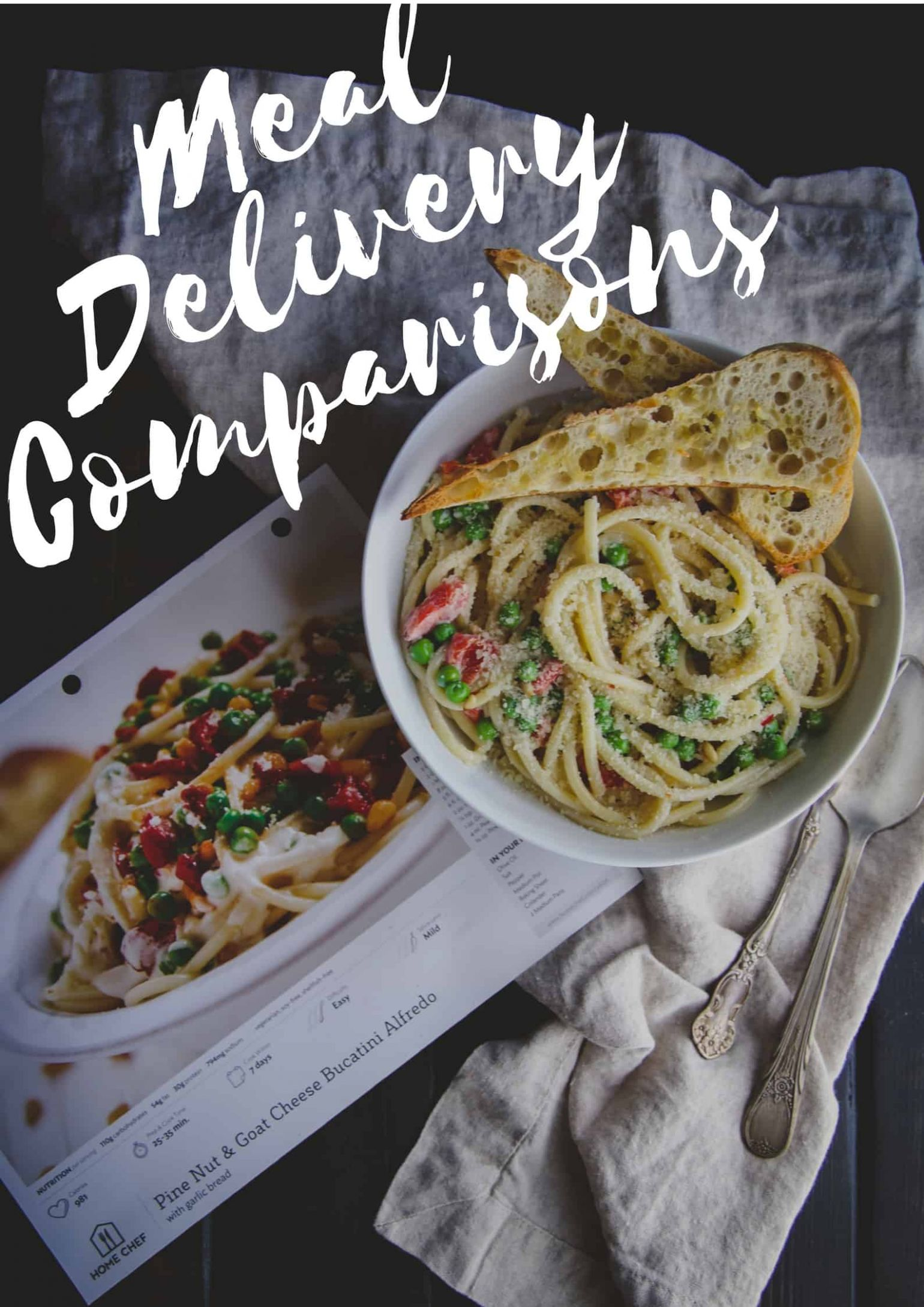 I tried 8 home meal delivery services...here is my comparison ..