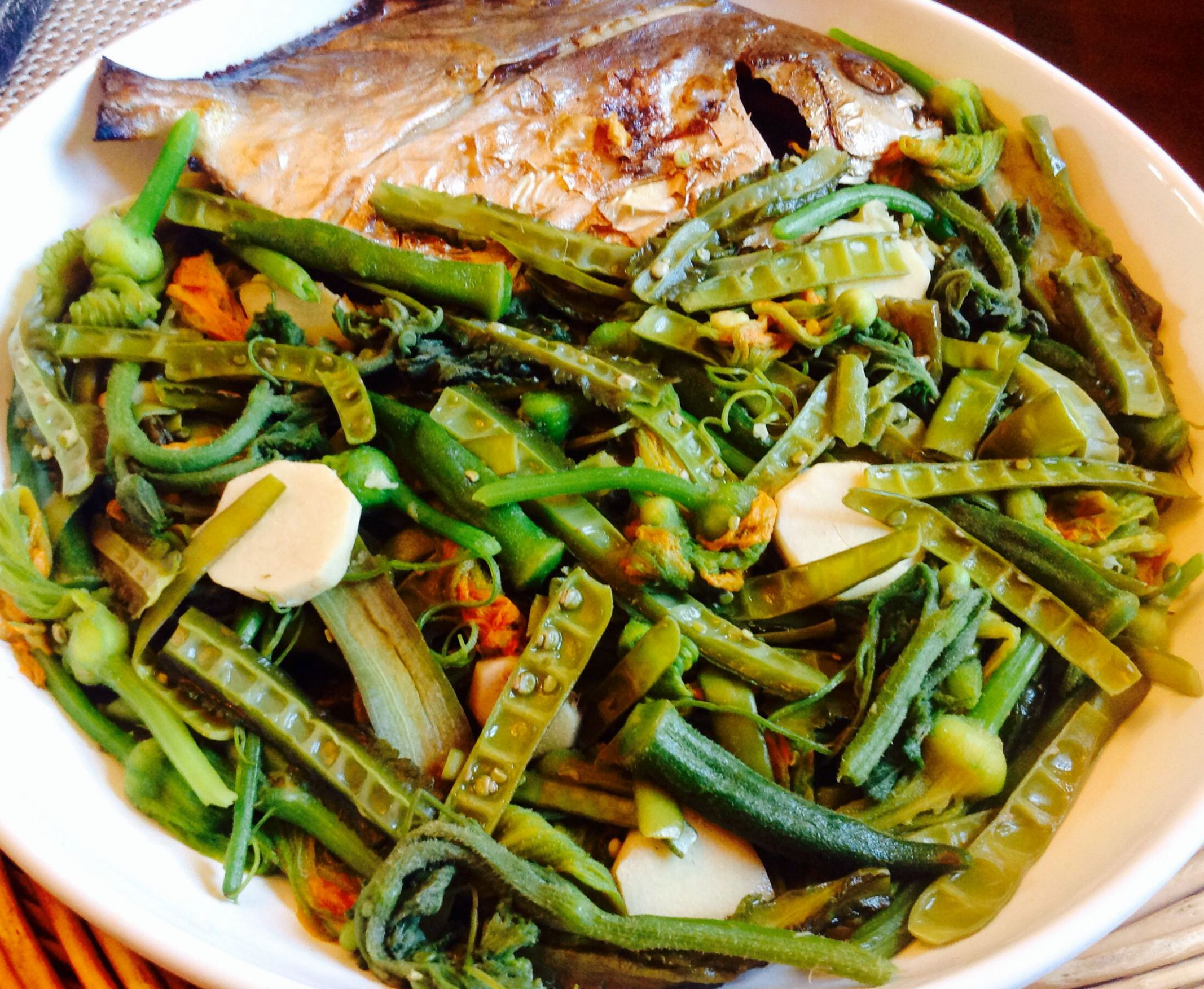 Ilokano Dinengdeng | Filipino vegetable recipes, Recipes, Filipino ..