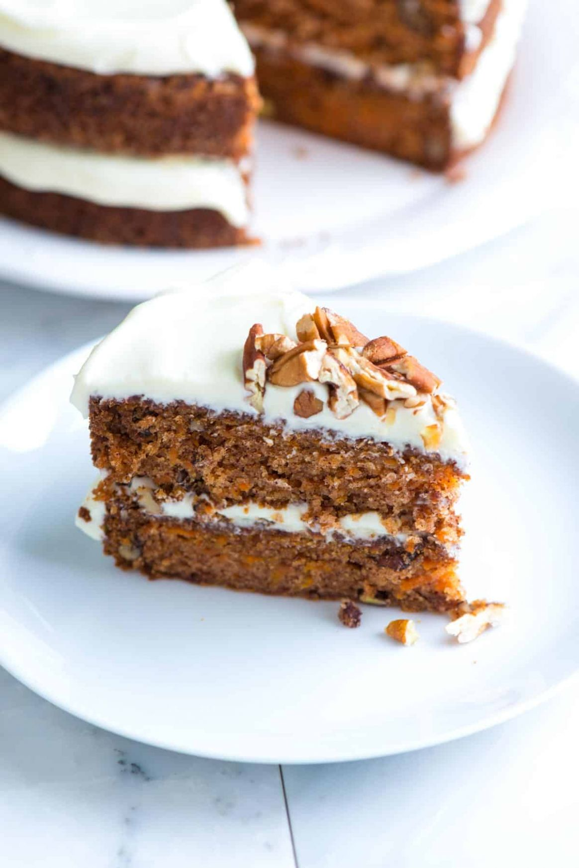 Incredibly Moist and Easy Carrot Cake - Simple Recipes Carrot Cake