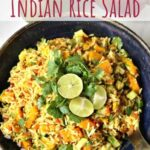 Indian Rice Salad with Mango & Lime Dressing | Vegan Salad Recipes